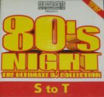 80s Night: The Ultimate Collection volume 14 cover